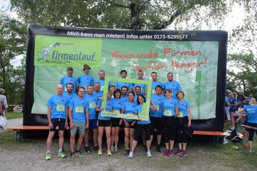 1. Firmenlauf Chiemgau - Gesunde Firmen laufen länger!