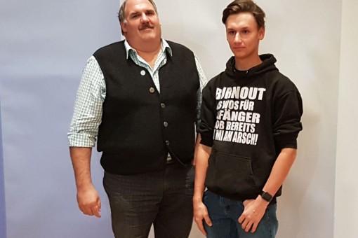 von li. nach re.: Geschäftsführer Andreas Niederbuchner, Maximilian Niederbuchner
