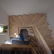 Holzwendeltreppe