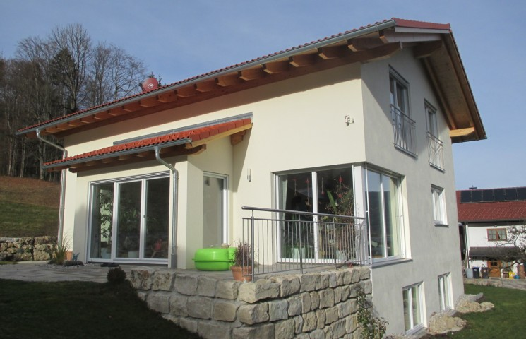 Einfamilienhaus e55 posch bau for Einfamilienhaus innenansicht
